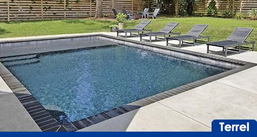 concrete pool