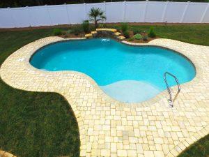 Newton Conover Concrete Swimming Pools Compared To Vinyl Pools