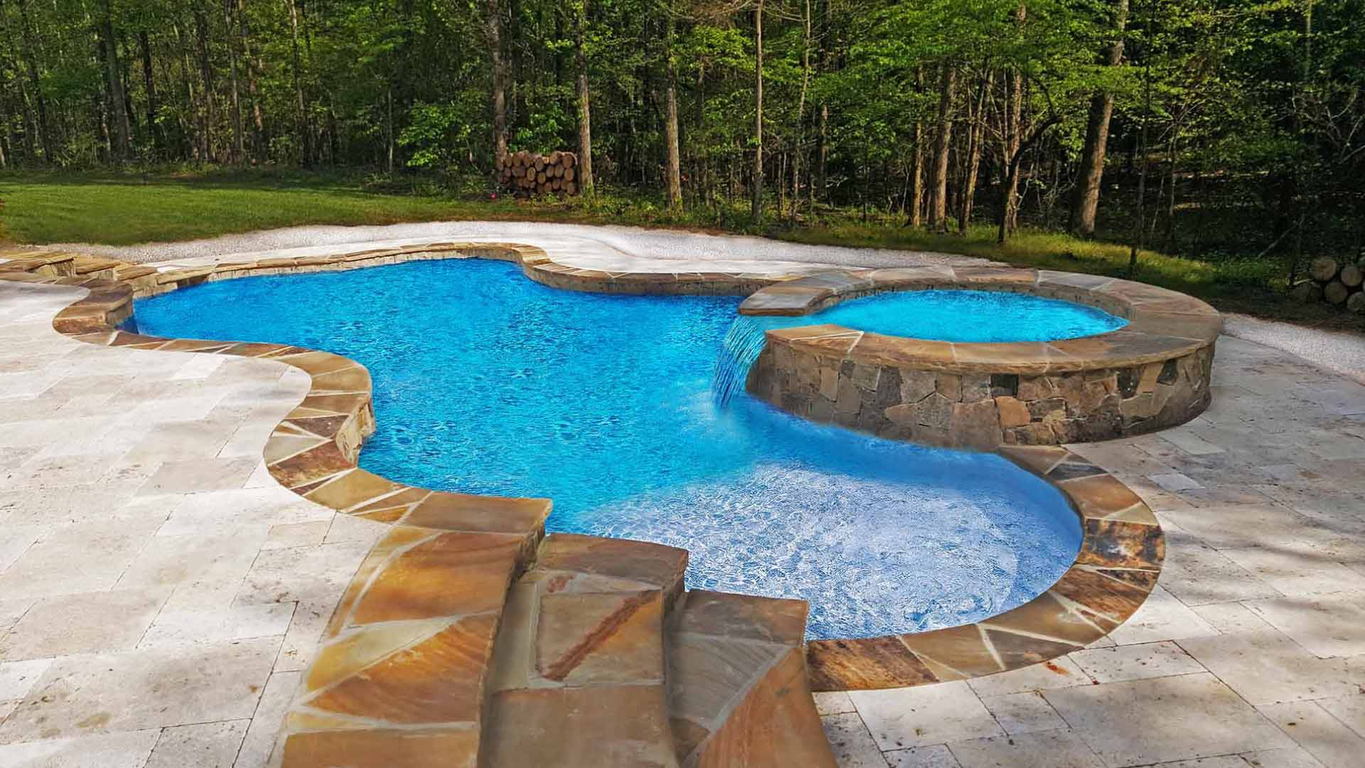 How the right choice of materials improves pool design