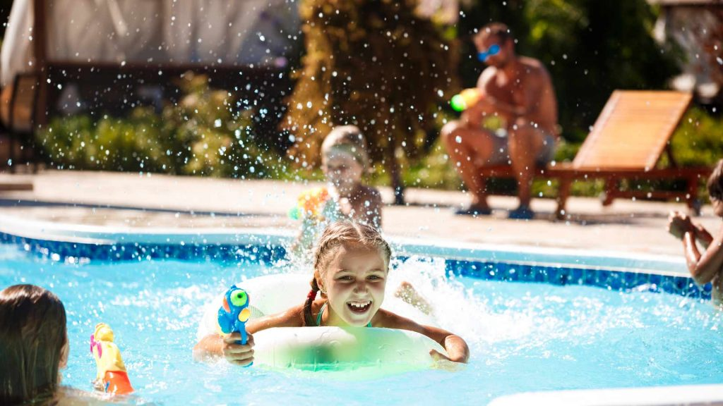 Can pool features transform the environment of your home?